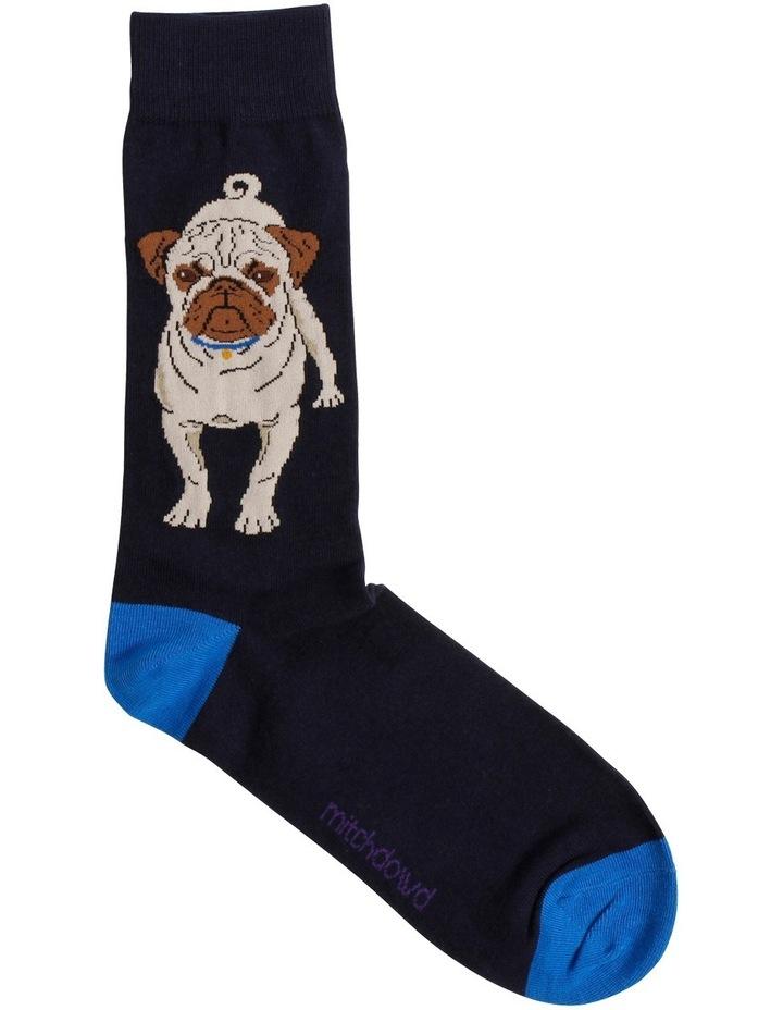 Pug Novelty Sock image 1