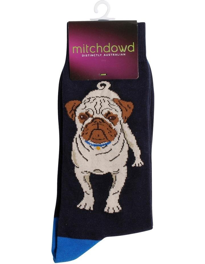 Pug Novelty Sock image 2