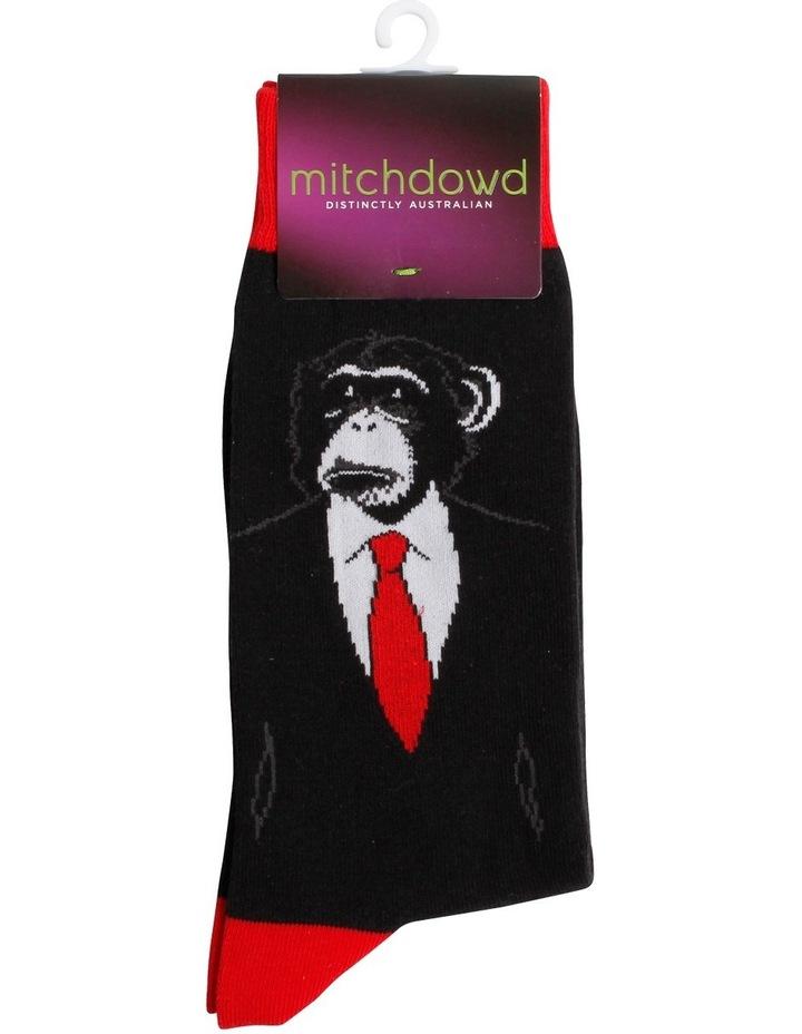 Monkey Suit Novelty Sock image 2