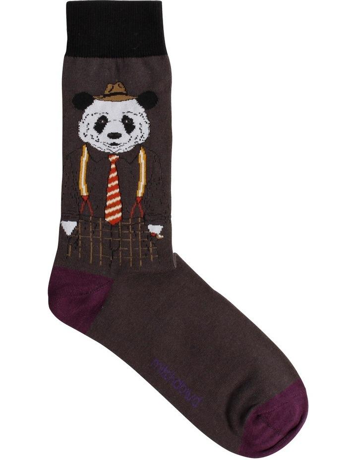 Dapper Panda Novelty Sock image 1