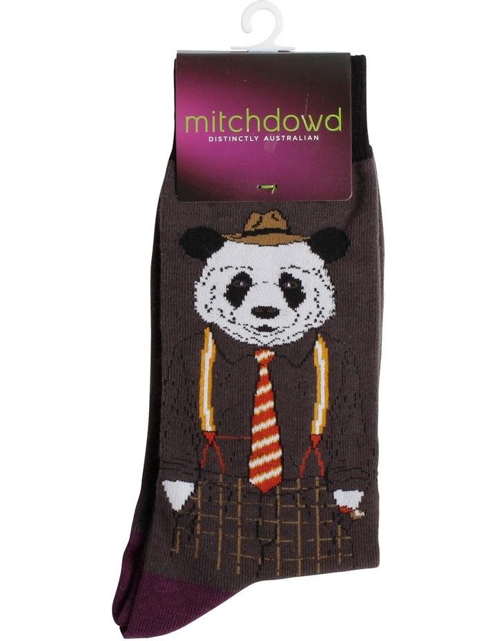 Dapper Panda Novelty Sock image 2