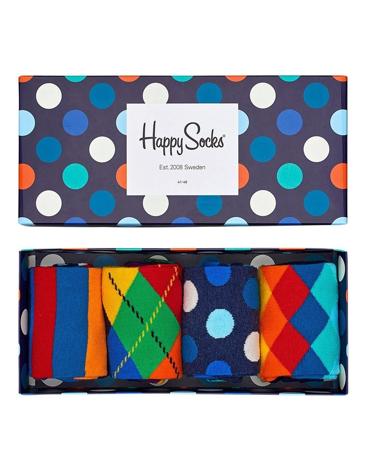 Happy Socks 4 Pack Gift Box image 2