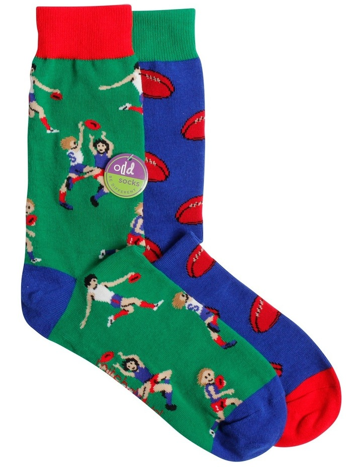 Aussie Rules Odd Socks image 1