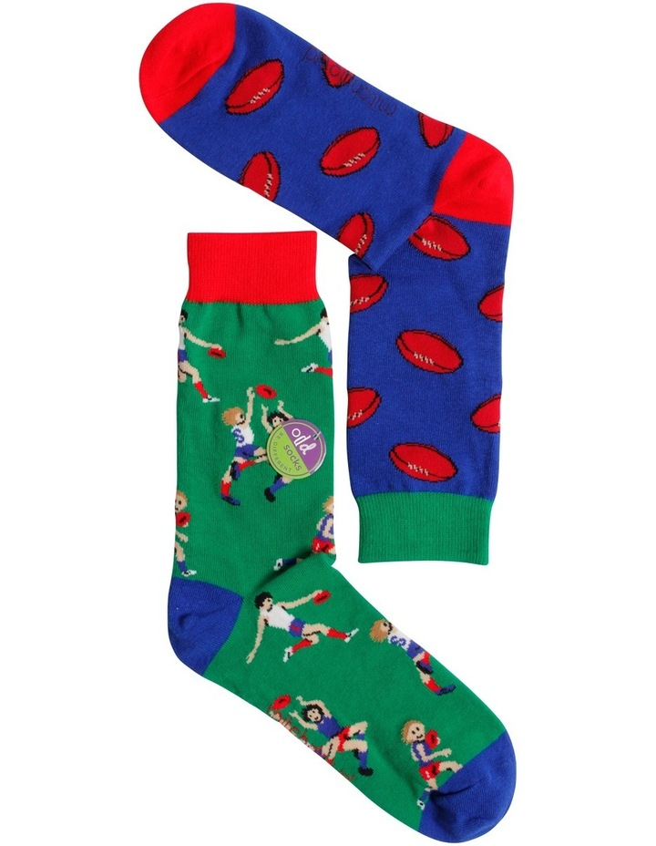 Aussie Rules Odd Socks image 2