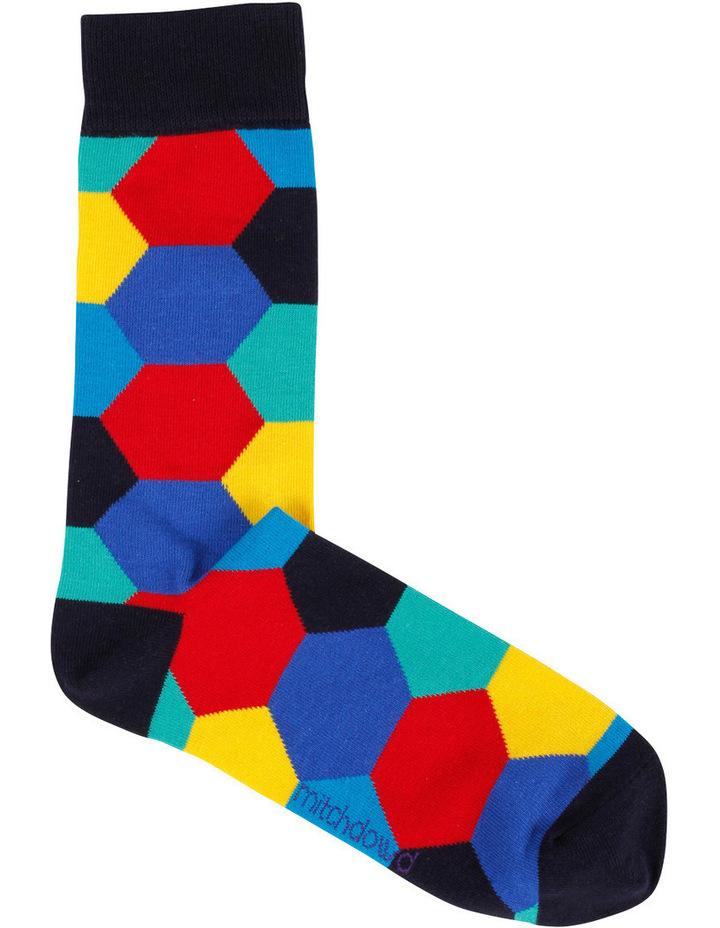 Hey Jacquard Sock image 1