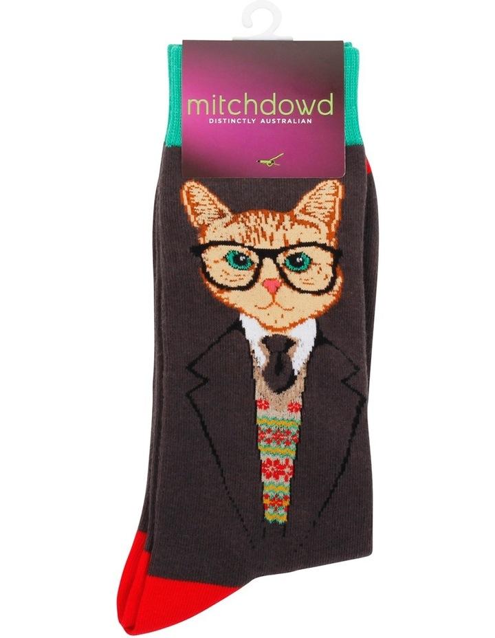 Dapper Cat Crew Sock image 2