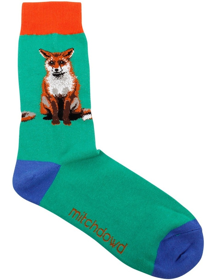 Cheecky Fox Crew Sock image 1