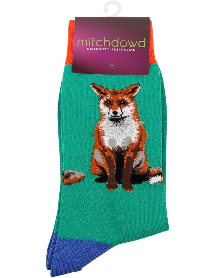 Cheecky Fox Crew Sock image 2