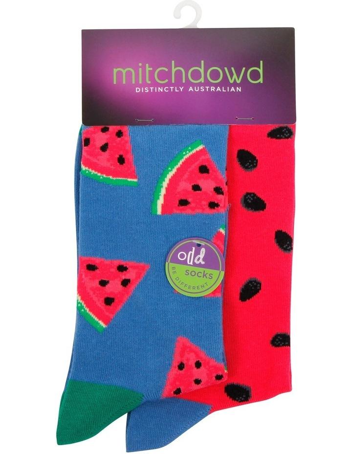 Watermelon Odd Socks image 1