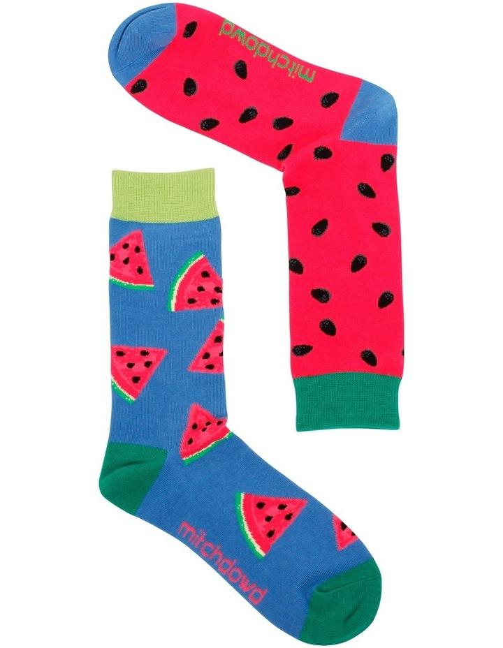 Watermelon Odd Socks image 2