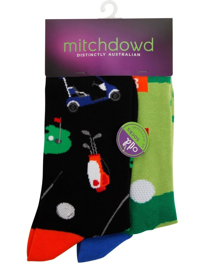 Great Golfer Odd Socks image 1