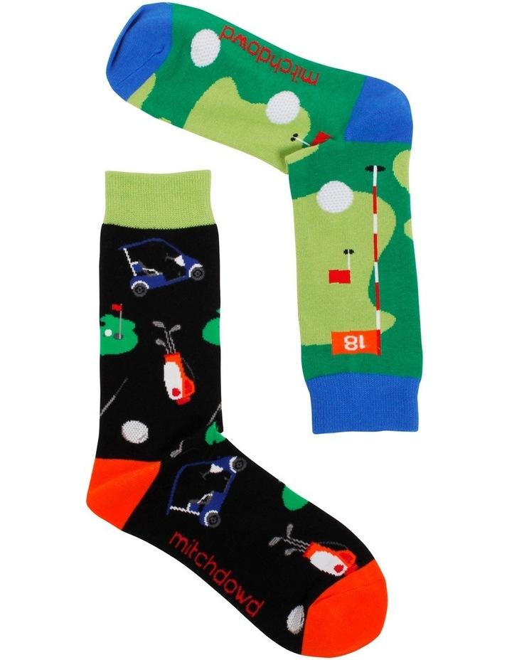 Great Golfer Odd Socks image 2