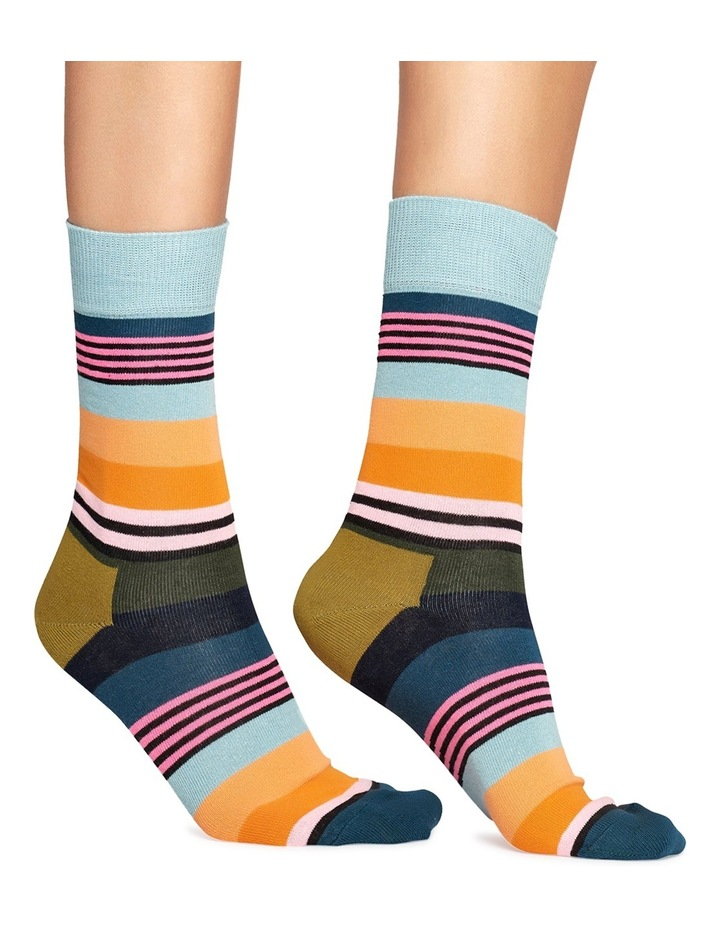 Multi Stripe Sock image 2