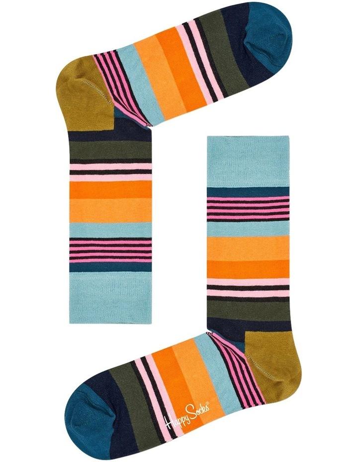 Multi Stripe Sock image 3