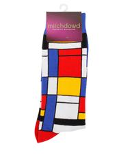 Mitch Dowd - Composition Mondrian Art Sock