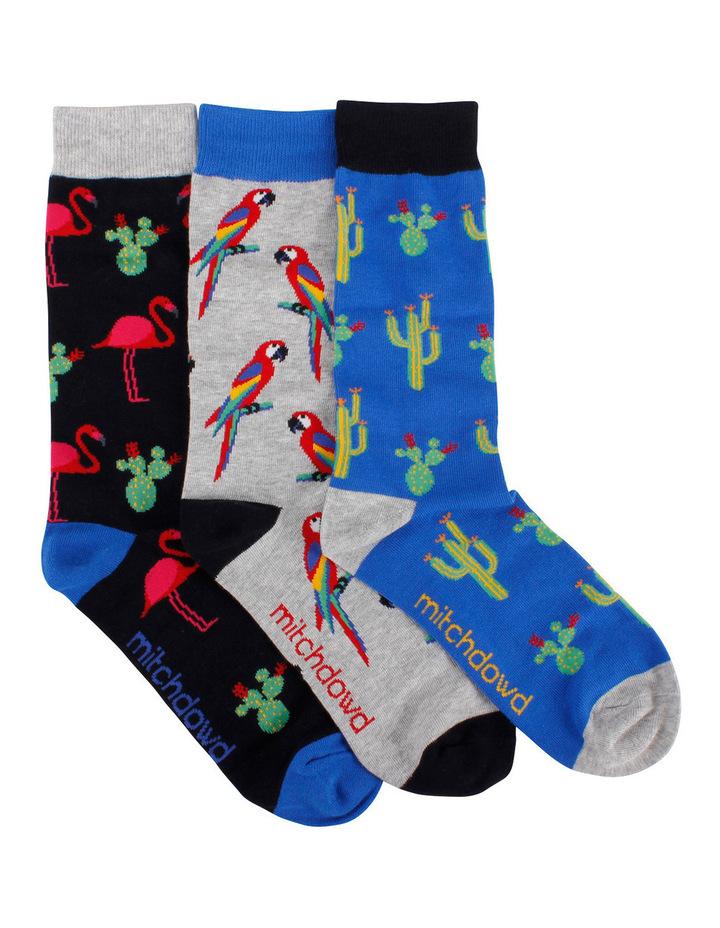 Birds 3 Pack Socks Gift Box image 1