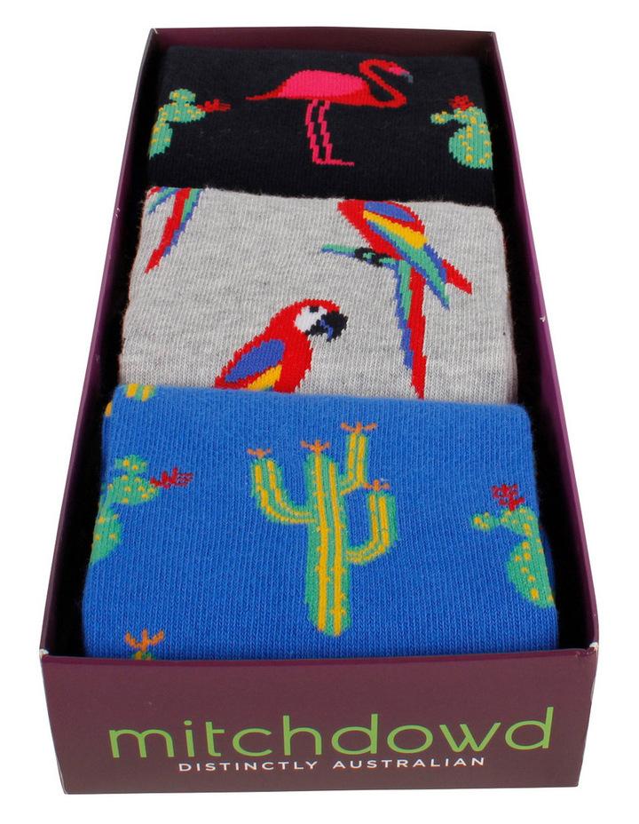 Birds 3 Pack Socks Gift Box image 2