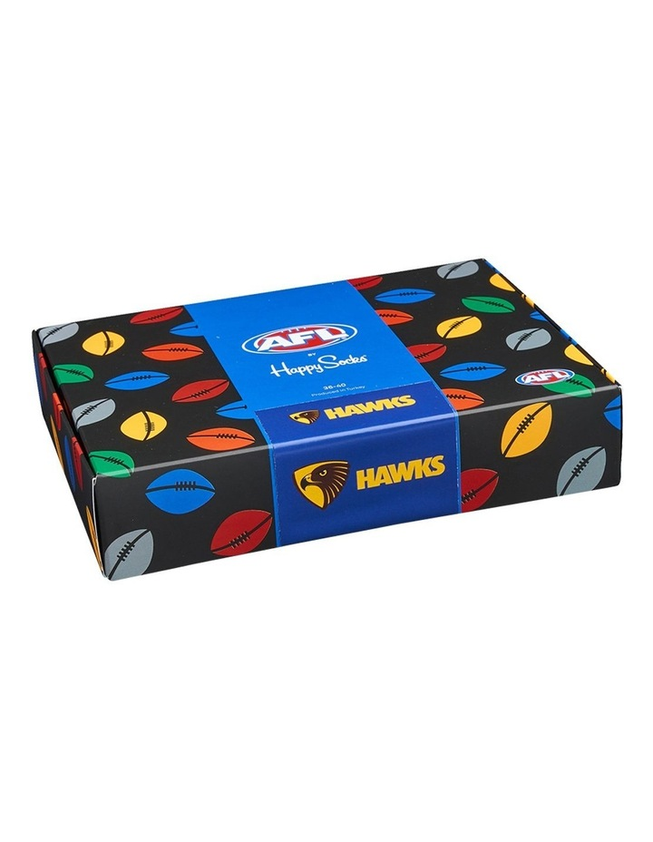 AFL Hawthorn Sock Gift Box image 1