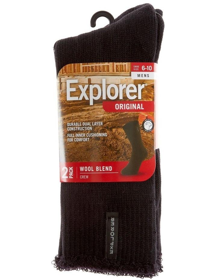 Explorer 2 Pack Original Wool Sock image 1