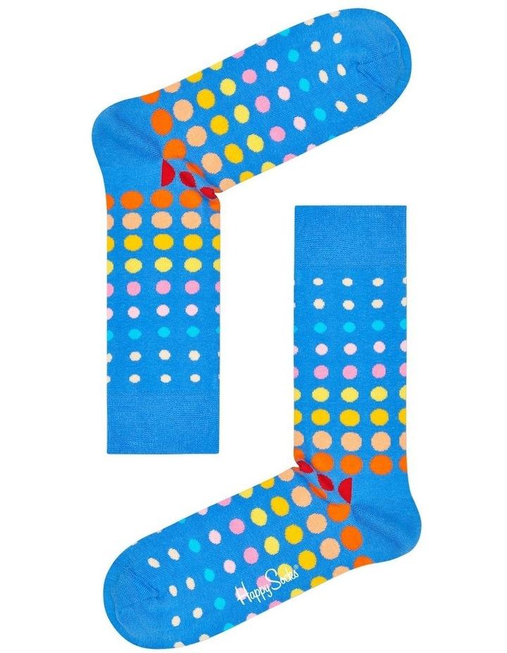 Faded Dot Sock image 1