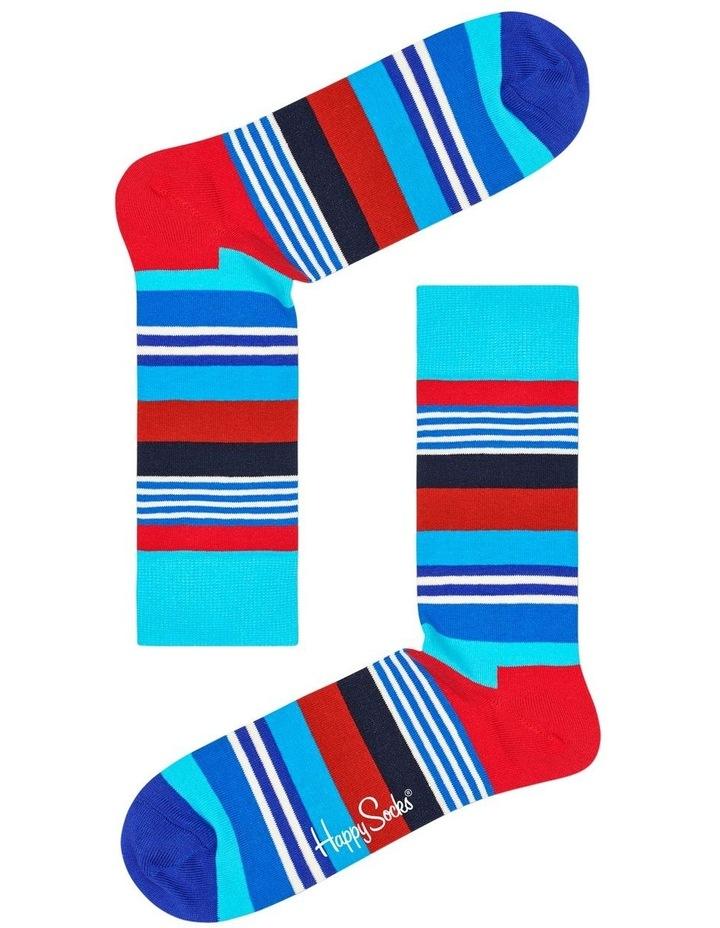 Multi Stripe Sock image 1