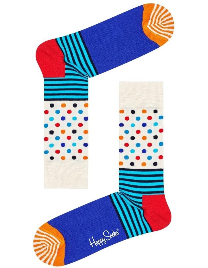 Stripe & Dot Sock image 1