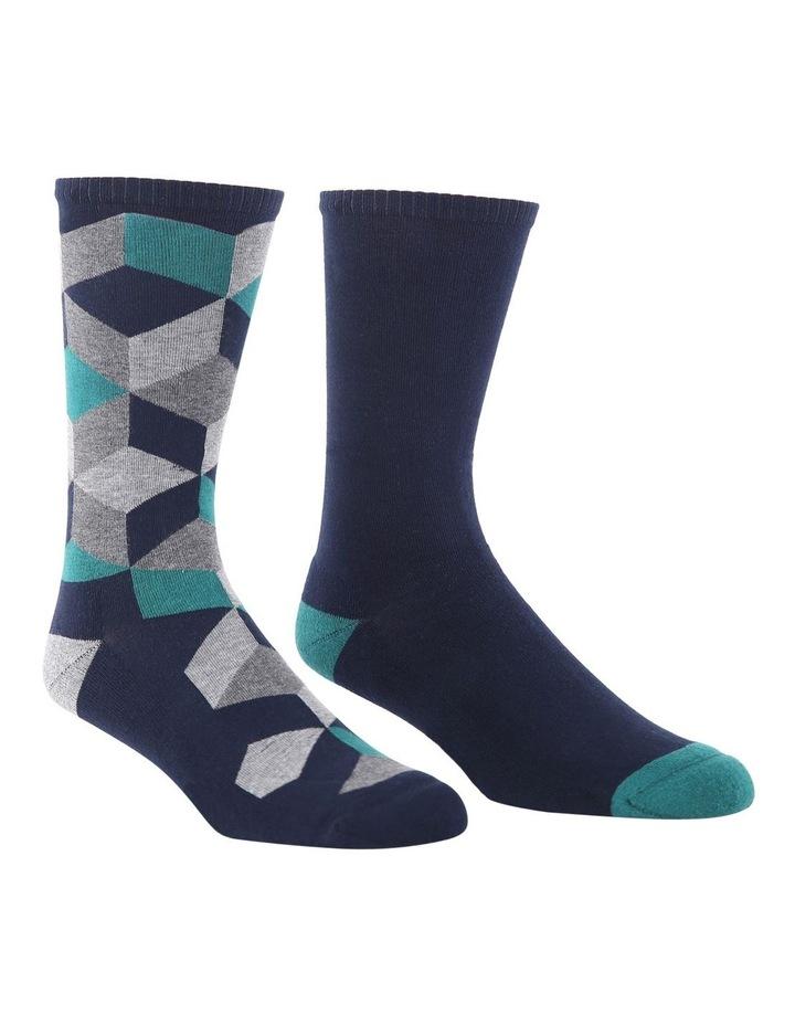 2 Pack Block Health Sock image 2