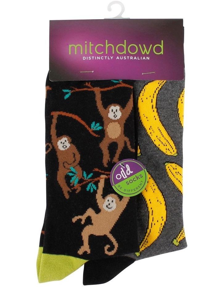 Monkey Odd Socks image 2