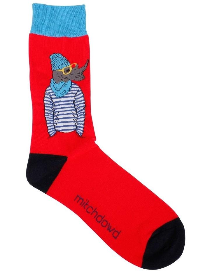 Cool Rhino Crew Sock image 1