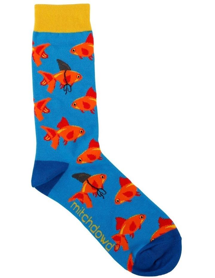 Goldfish Fin Crew Sock image 1