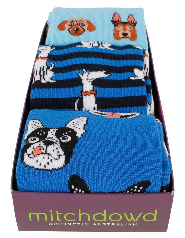 3 Pack Socks Gift Box - Animals image 2