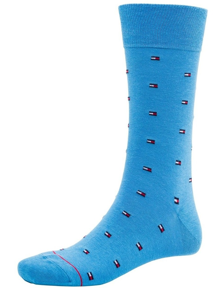 3 Pack Signature All Over Flag Sock image 2
