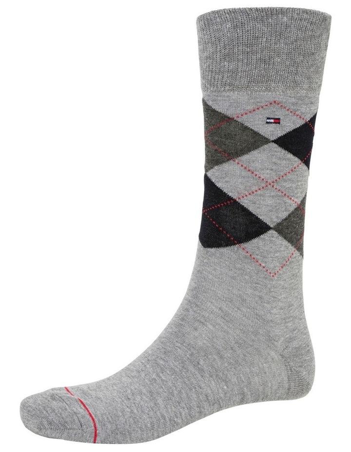 3 Pack Classic Tommy Argyle Crew Socks image 2