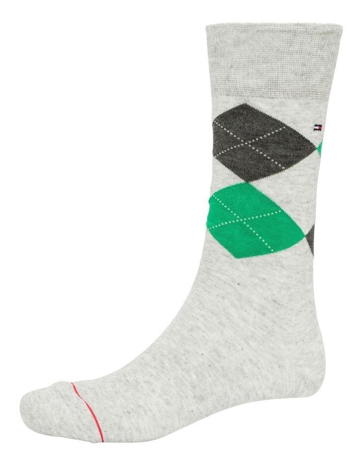 3 Pack Classic Tommy Argyle Crew Socks image 4