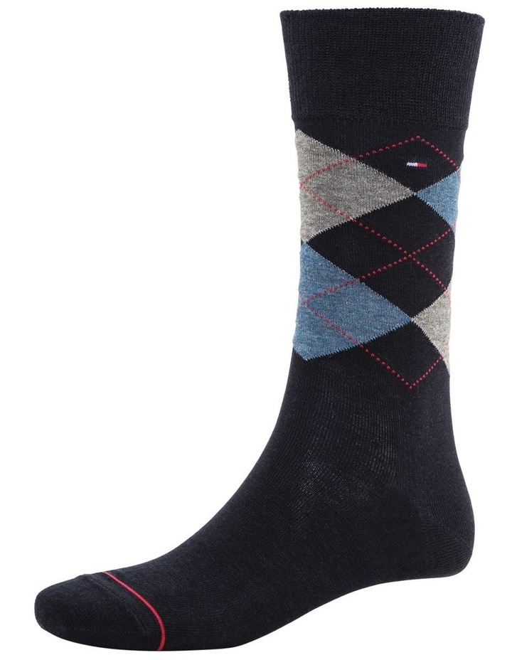 3 Pack Classic Tommy Argyle Crew Socks image 3