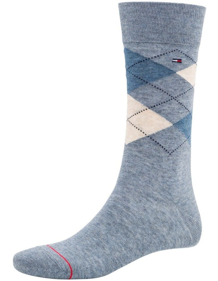 3 Pack Classic Tommy Argyle Crew Socks image 4