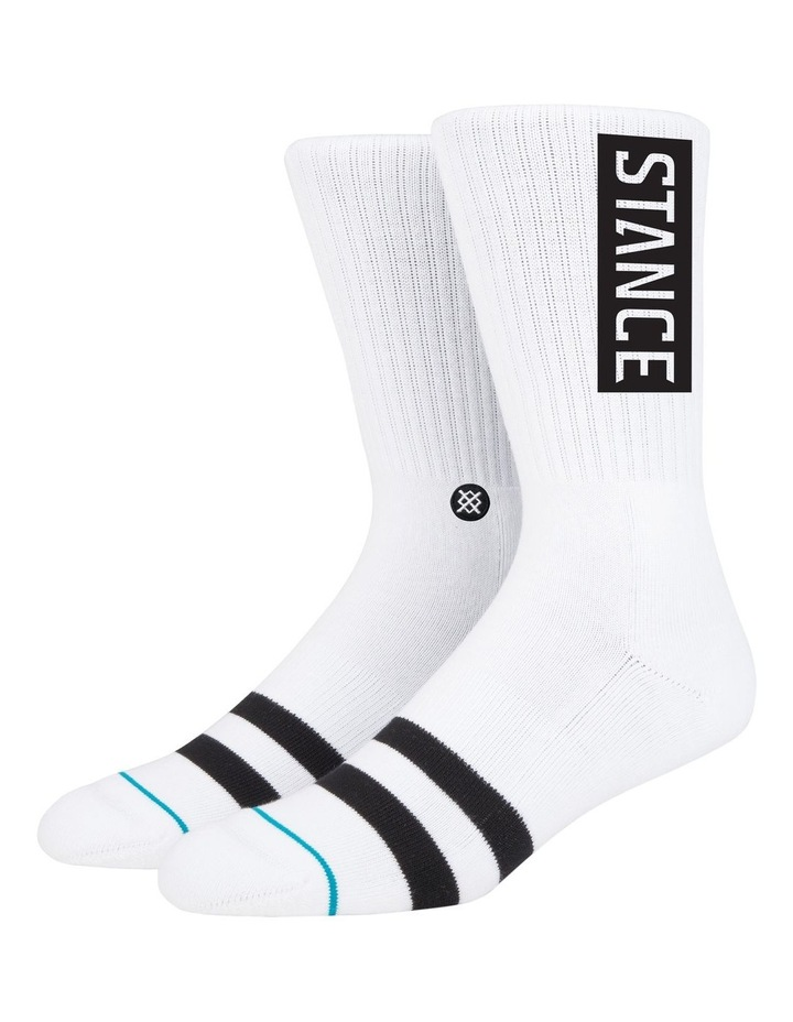 OG Uncommon Solids Crew Sock image 1