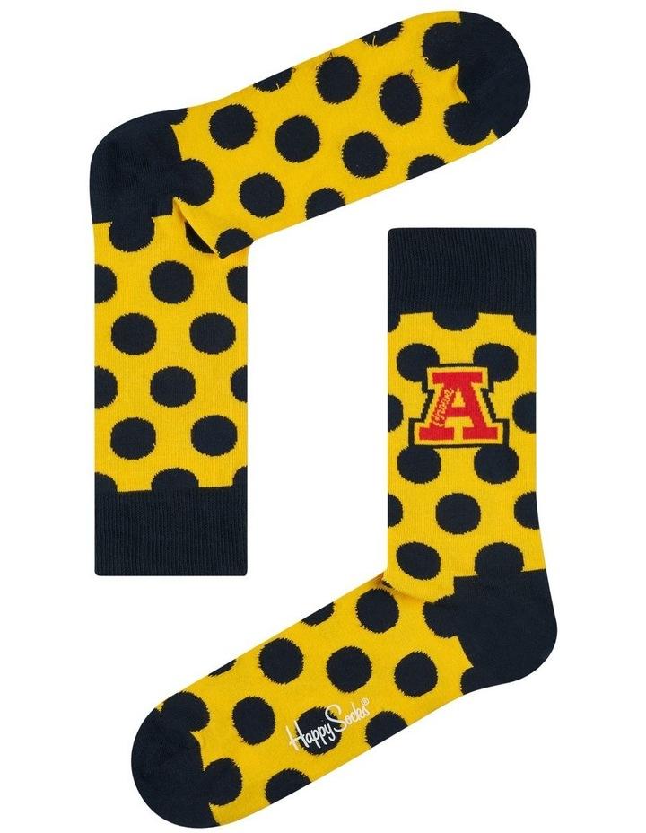 Adelaide AFL Crew Sock image 1