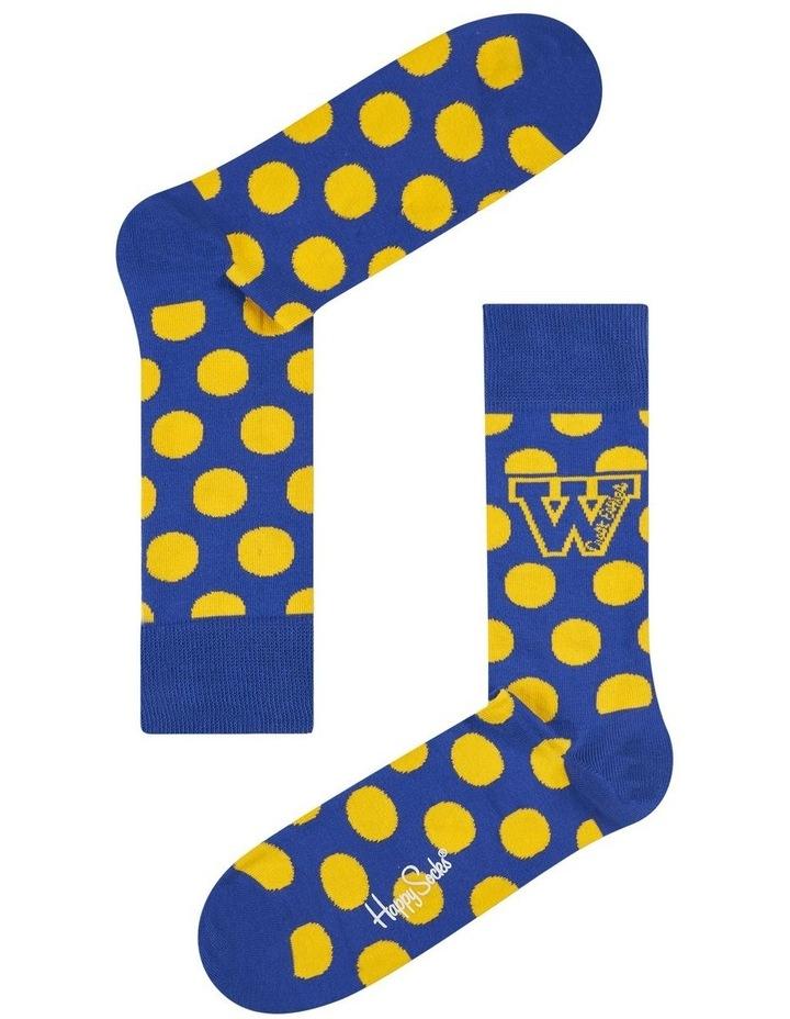 West Coast Eagles AFL Crew Sock image 1