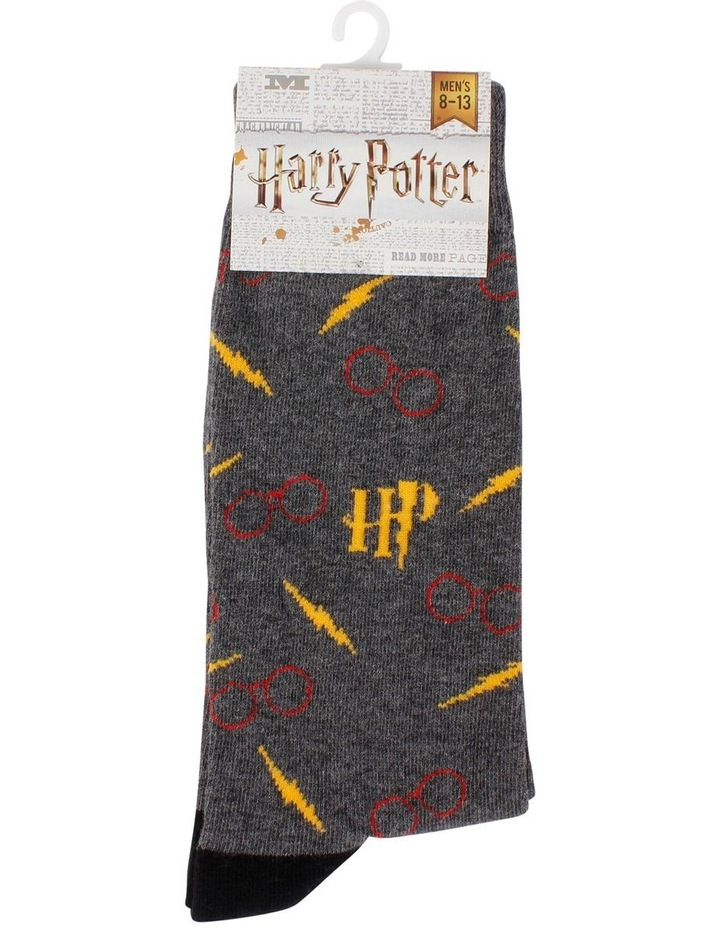 Men's Harry Potter Logo Socks image 2