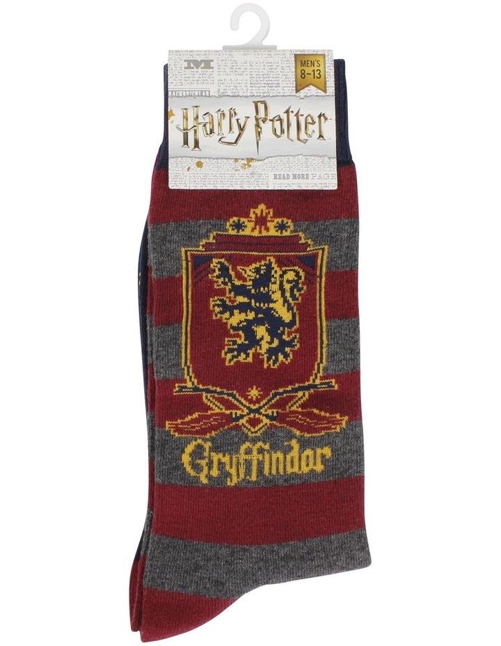Men's Harry Potter Gryffindor Socks image 2