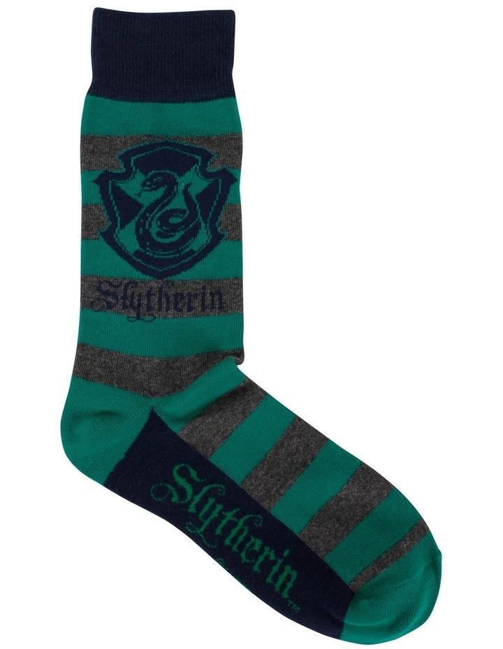 Men'S Harry Potter Slytherin Socks image 1