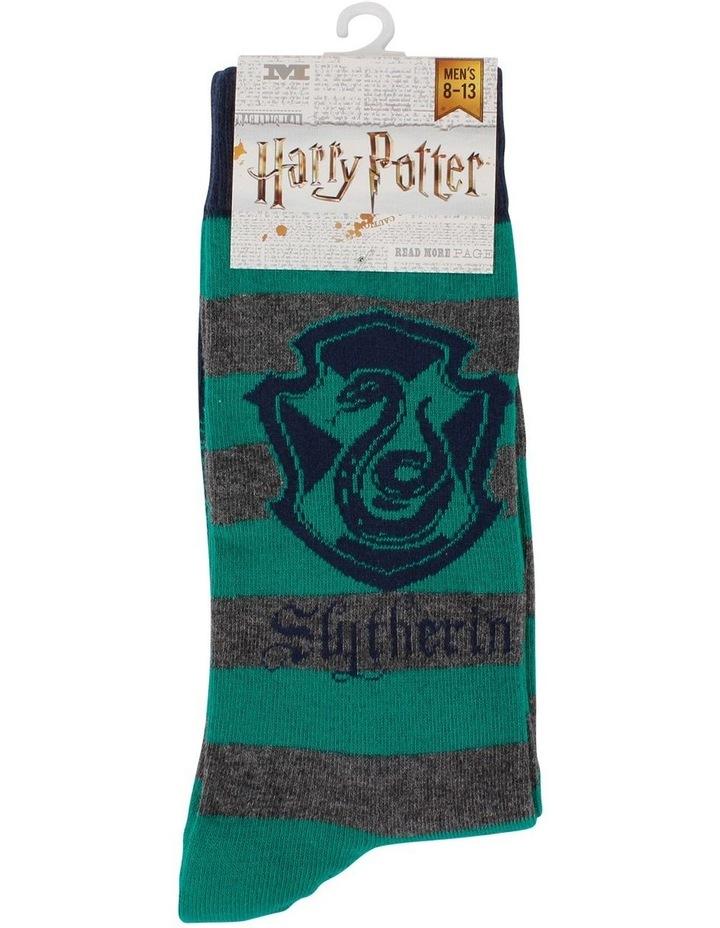 Men'S Harry Potter Slytherin Socks image 2