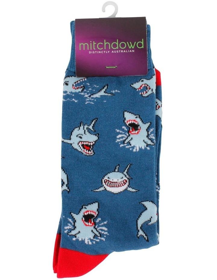 Shark Attack Fashion Sock image 2