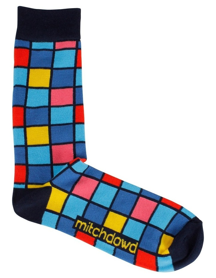 Hot Check Bamboo Fashion Sock image 1