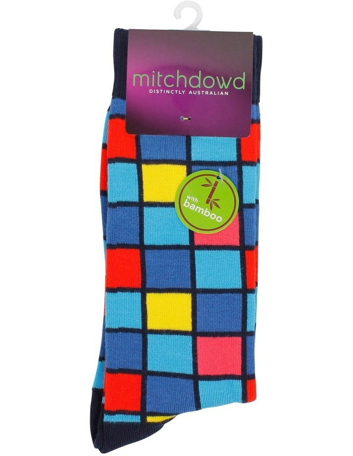 Hot Check Bamboo Fashion Sock image 2