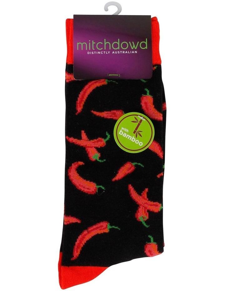 Chillis Bamboo Fashion Sock image 2