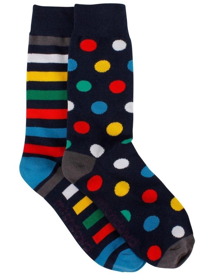 Spot Stripe Odd Sock image 1