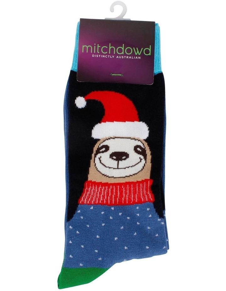 Sloth Santa Sock image 2