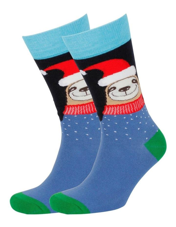 Sloth Santa Sock image 3